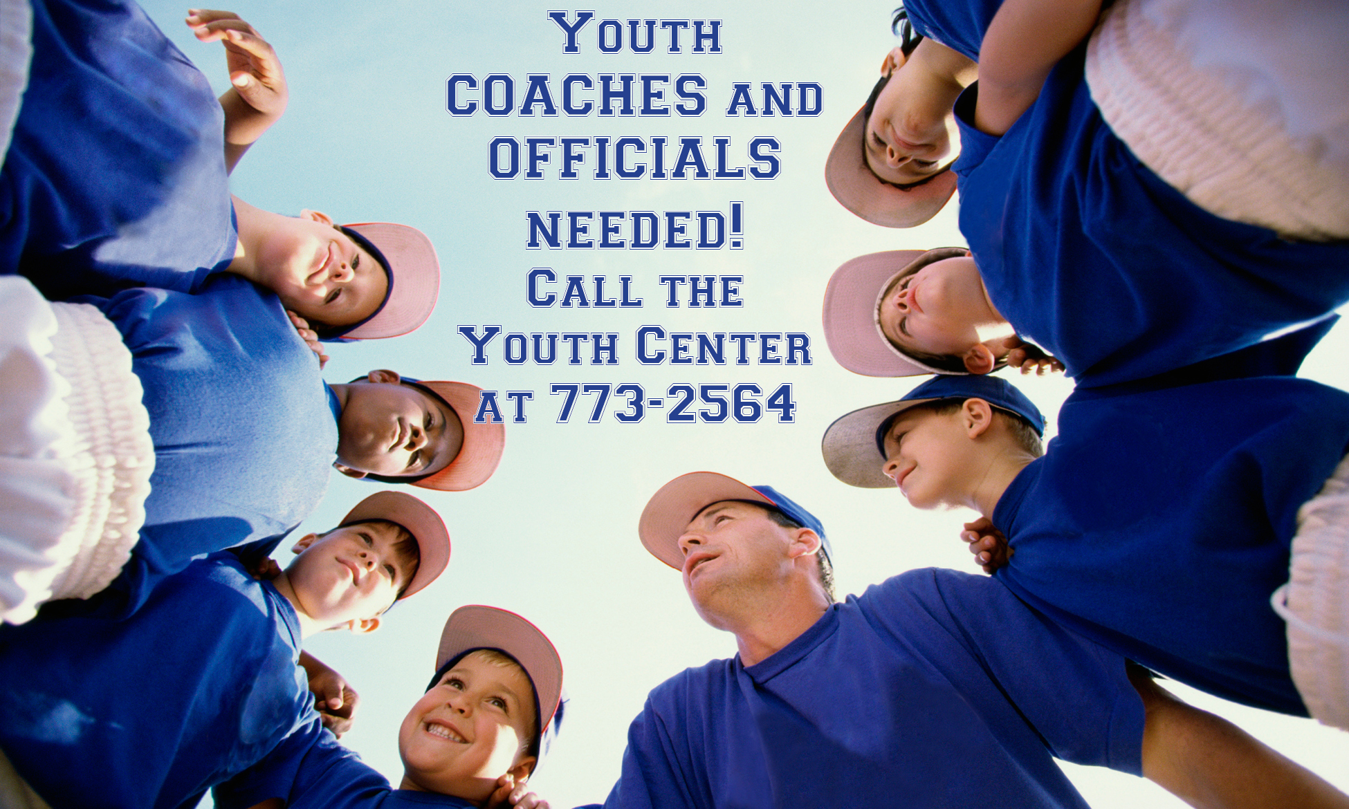 Youth Coaches Needed