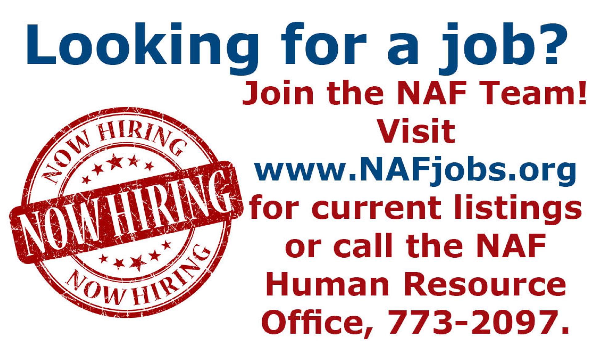 NAF Jobs