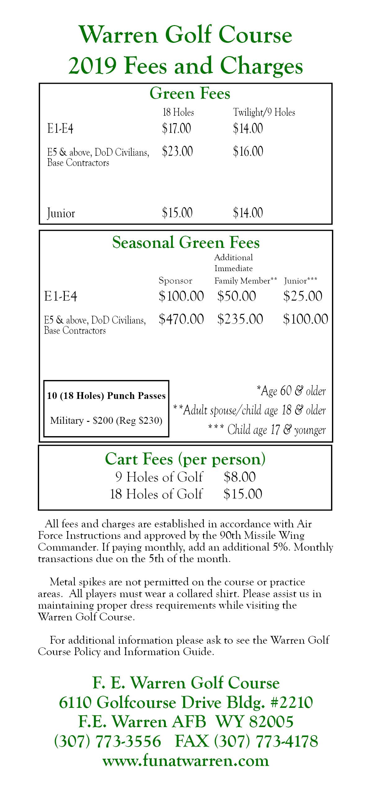 , Golf Course & Pro Shop