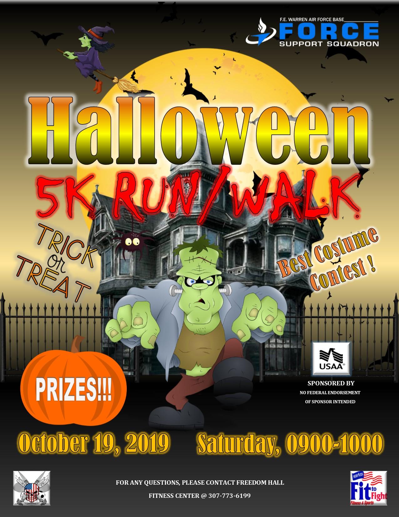 , Halloween 5K Run/Walk