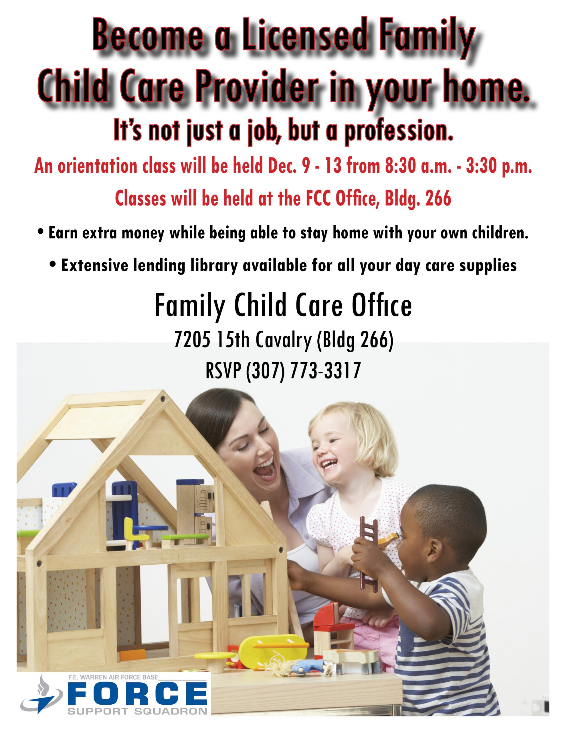 , Family Child Care Provider Class